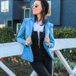 Blazer en jeans écologique